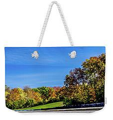 Road America In The Fall Weekender Tote Bag