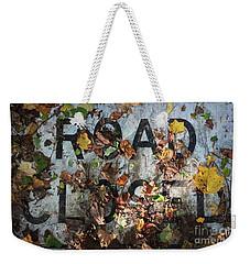 Road Closed Weekender Tote Bag by Todd Breitling
