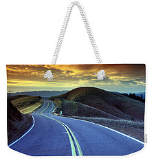 Road In The Mountains Weekender Tote Bag