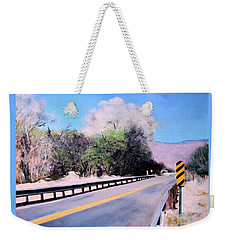 Road Over The Wash Weekender Tote Bag