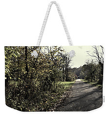 Road To Covered Bridge Weekender Tote Bag