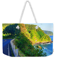 Weekender Tote Bag featuring the photograph Road To Hana - Hawaii by Michael Rucker