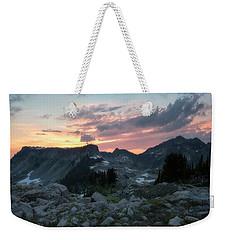 Road To Heather Meadows Weekender Tote Bag