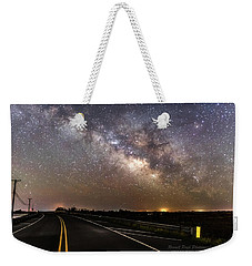 Road To Milky Way Weekender Tote Bag