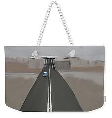 Road To Music Weekender Tote Bag by Keshava Shukla