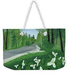 Road To Northport - Spring Weekender Tote Bag