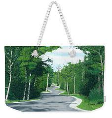 Road To Northport - Summer Weekender Tote Bag