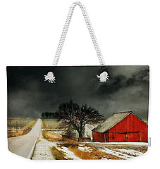 Road To Nowhere Weekender Tote Bag by Julie Hamilton