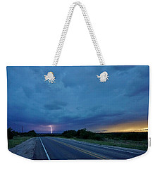 Lightning Over Sonora Weekender Tote Bag
