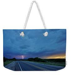 Lightning Over Sonora Weekender Tote Bag by Ed Sweeney