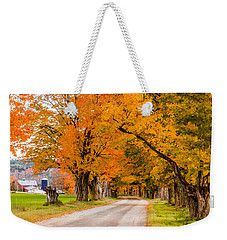 Road To The Farm Weekender Tote Bag by Tim Kirchoff