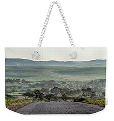 Road To The Forest Weekender Tote Bag by Yoel Koskas