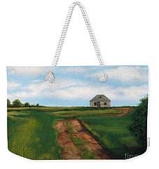 Road To The Past Weekender Tote Bag by Billinda Brandli DeVillez