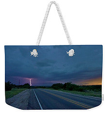 Road To The Storm Weekender Tote Bag