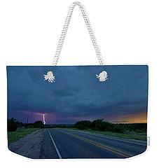 Road To The Storm Weekender Tote Bag by Ed Sweeney