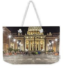 Road To The Vatican  Weekender Tote Bag