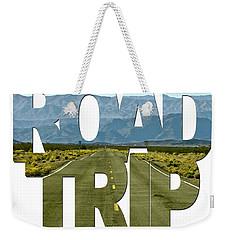Road Trip Word Art Weekender Tote Bag