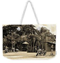 Roadhouse Weekender Tote Bag