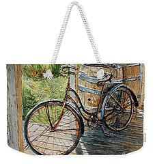 Roadmaster Bicycle 2 Weekender Tote Bag by Joey Agbayani