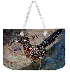 Roadrunner Making Nest Weekender Tote Bag