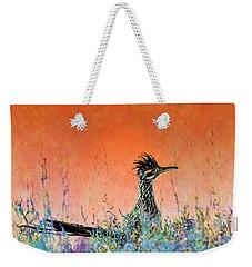 Roadrunner's New Mexico Sunset Weekender Tote Bag