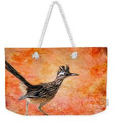 Roadrunner's Sunrise Weekender Tote Bag