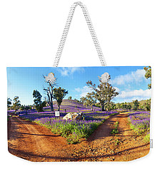 Roads To Salvation Jane Weekender Tote Bag