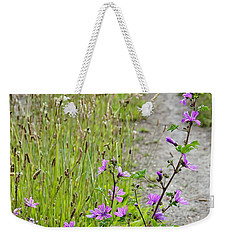 Roadside Flowers Weekender Tote Bag by Yurix Sardinelly