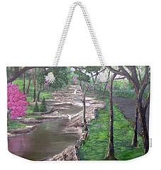 Roadside Park 1  Weekender Tote Bag