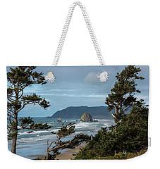 Roadside View Weekender Tote Bag