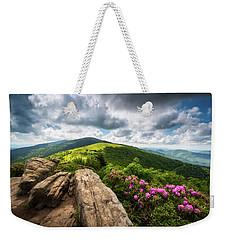Roan Mountain Radiance Appalachian Trail Nc Tn Mountains Weekender Tote Bag
