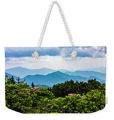 Roan Mountain Rhodos Weekender Tote Bag by Dale R Carlson