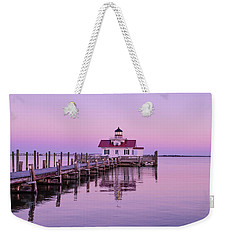 Roanoke Marshes Lighthouse  Weekender Tote Bag