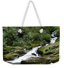 Weekender Tote Bag featuring the photograph Roaring Fork Falls June 2017 by Joel Deutsch