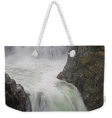 Weekender Tote Bag featuring the photograph Roaring River by Randy Hall