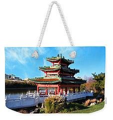 Robert D. Ray Asian Garden Weekender Tote Bag