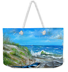 Robert Moses Beach Weekender Tote Bag