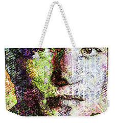 Robert Pattinson Weekender Tote Bag