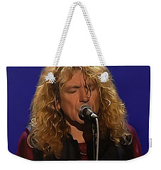 Robert Plant 001 Weekender Tote Bag by Sergey Lukashin