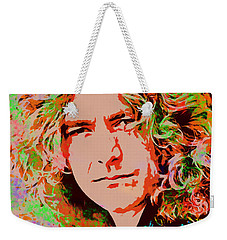 Robert Plant Weekender Tote Bag by Sergey Lukashin