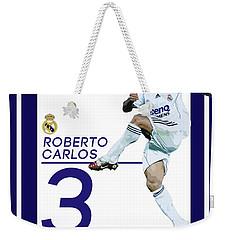 Roberto Carlos Weekender Tote Bag by Semih Yurdabak