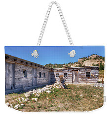 Weekender Tote Bag featuring the photograph Robidoux Trading Post by Susan Rissi Tregoning
