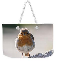 Robin Front Weekender Tote Bag