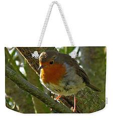 Robin In A Tree Weekender Tote Bag