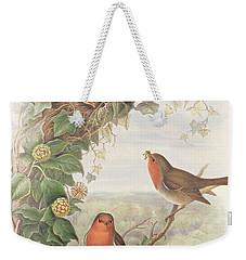 Robin Weekender Tote Bag by John Gould