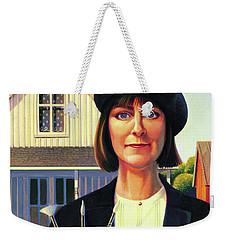 Robin Wood Self-portrait Weekender Tote Bag