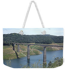 Weekender Tote Bag featuring the photograph Robinson's Ferry Vista Point by Sara Raber