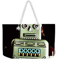 Robotic Spaceman Weekender Tote Bag