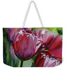 Rochelle's Springtime Tulips Weekender Tote Bag