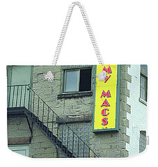 Weekender Tote Bag featuring the photograph Rochester, New York - Jimmy Mac's Bar 2 by Frank Romeo